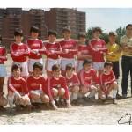 1982. Alevín del Club Deportivo Villegas.