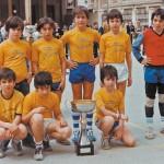 1982. Equipo campeón del Calasancio.