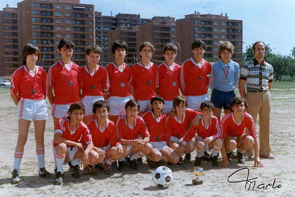 1983. Infantil A Del CD Villegas