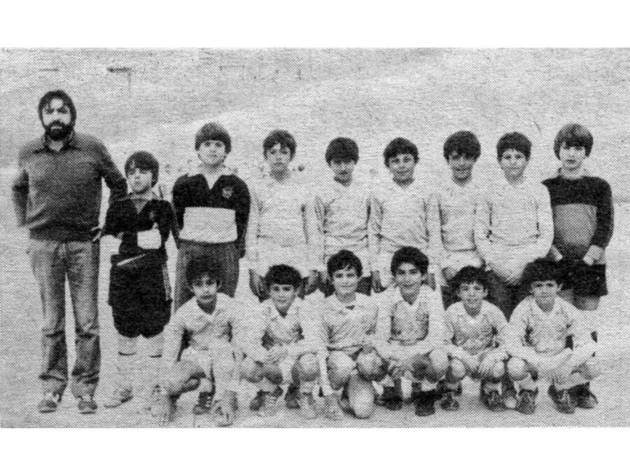 1984. Balsamaiso, Tercer Clasificado En Alevines.