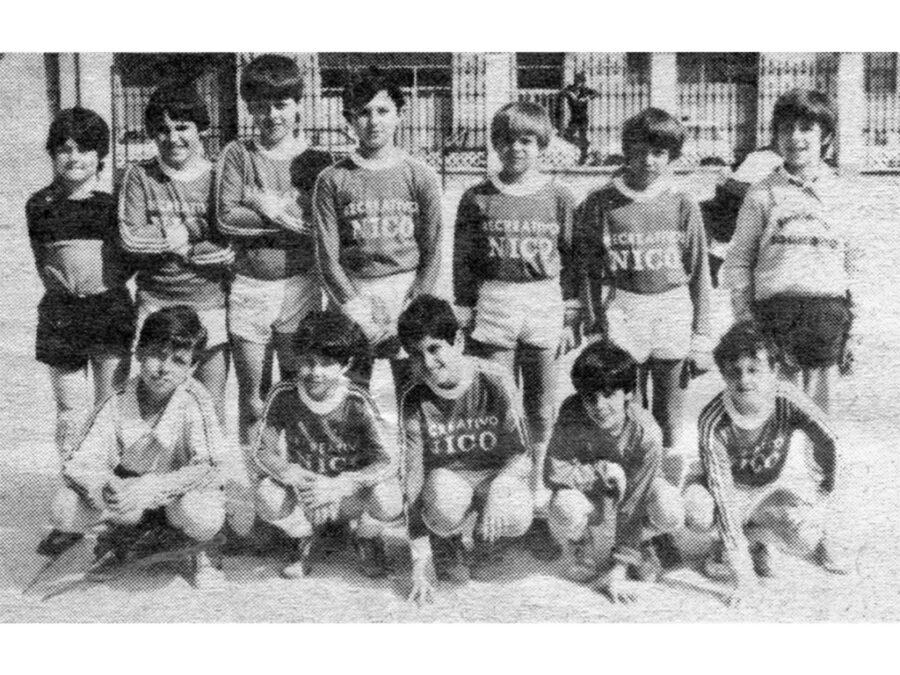 1984. Villegas, Cuarto Clasificado En Alevines.