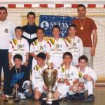 2000. Equipo del EF Arnedo campeón del 27 Torneo Villegas.