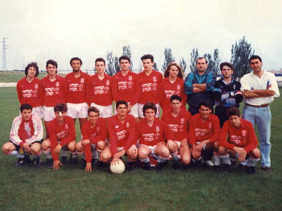 1990-91. Juvenil Del CD Villegas. Campeón De Copa.