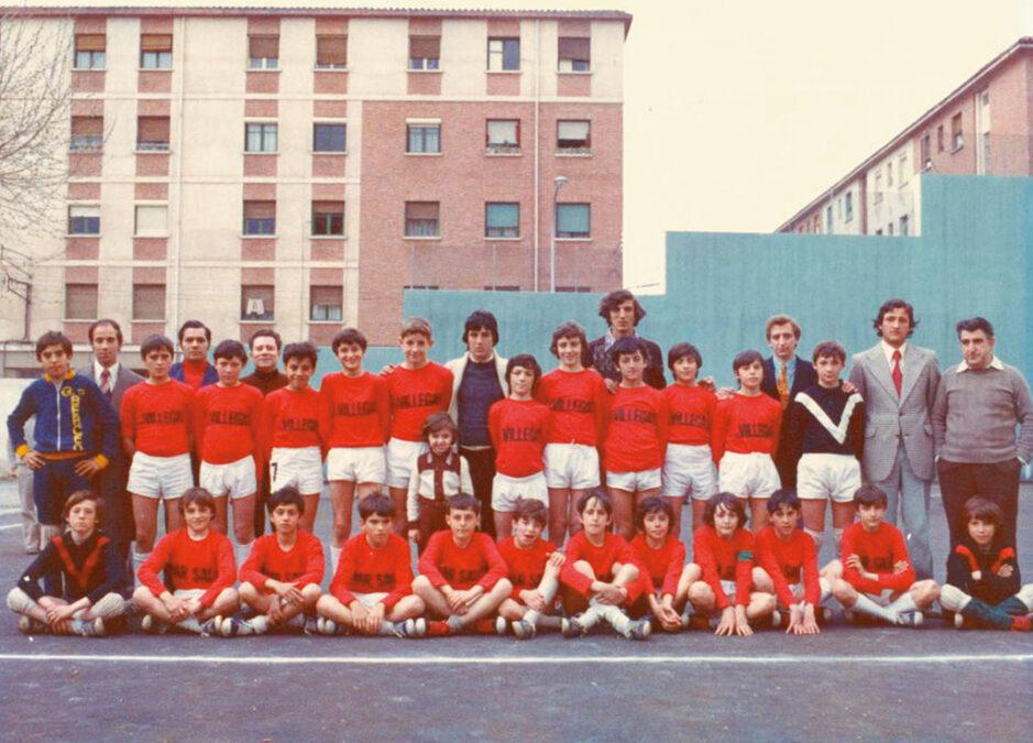 Equipos Del CD Villegas, 1974.