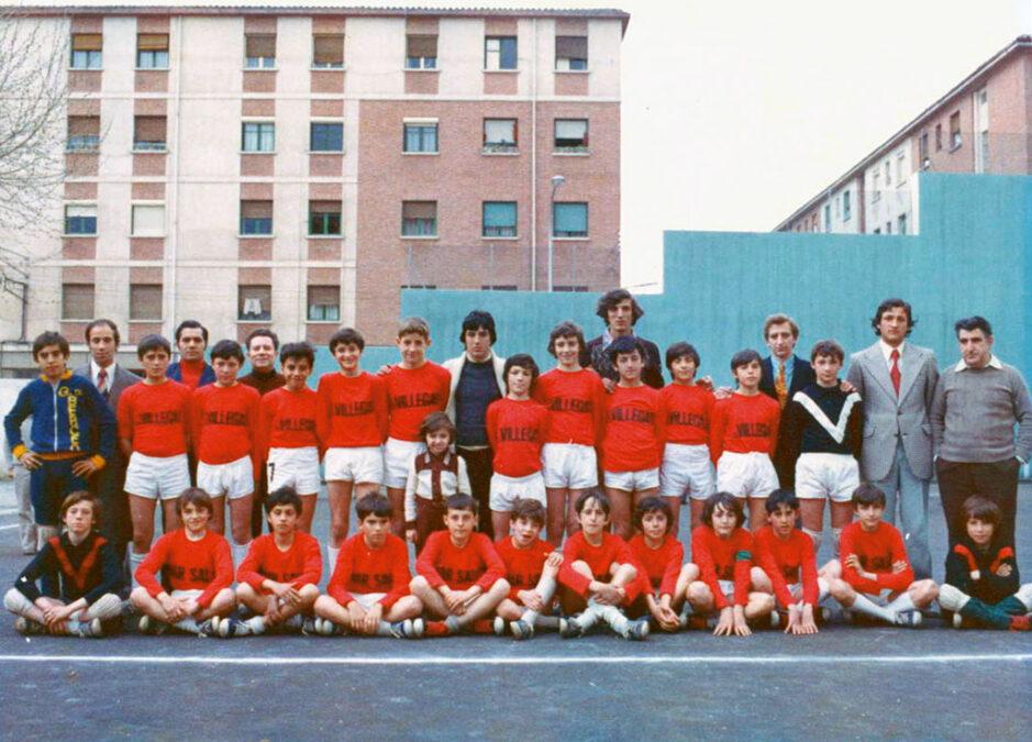 1974-75. Equipos Alevines Del CD Villegas.