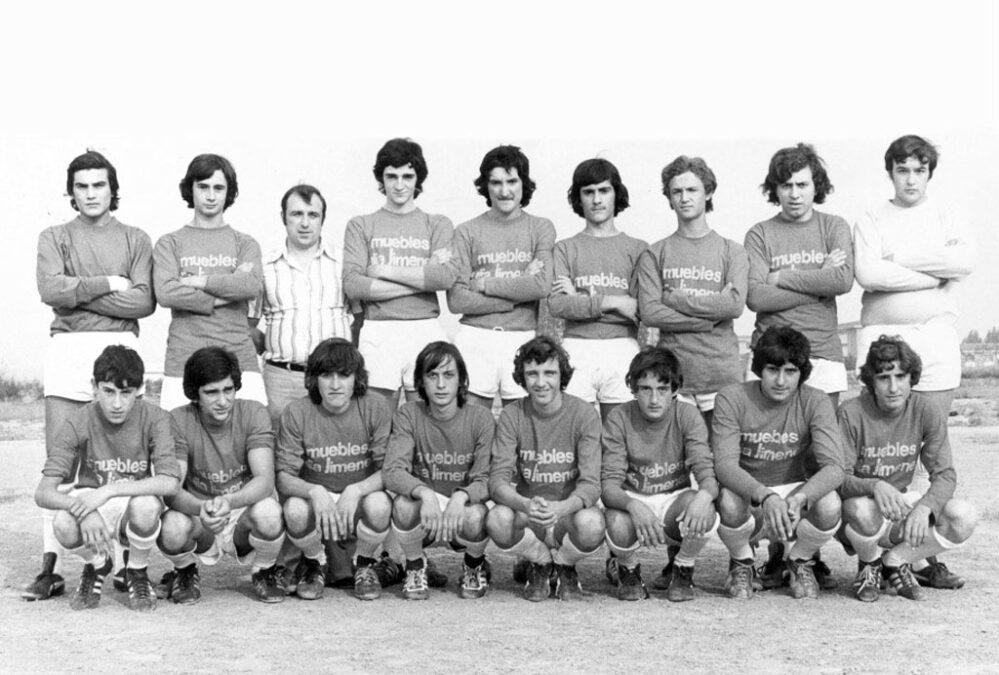 1975-76. Juvenil Del CD Villegas.