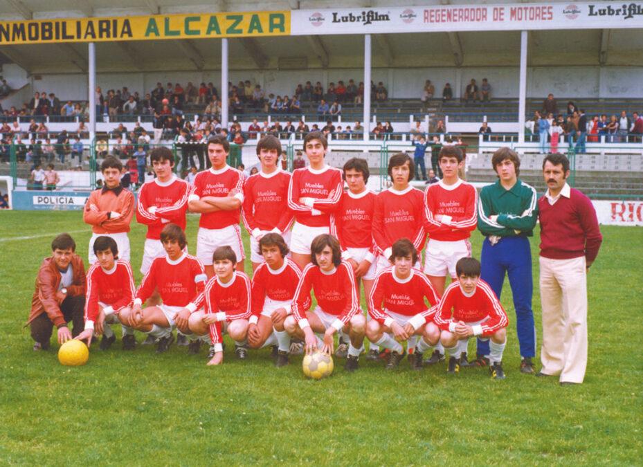 1979-80. Juvenil Del CD Villegas.