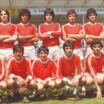 1980-81. Juvenil del CD Villegas.