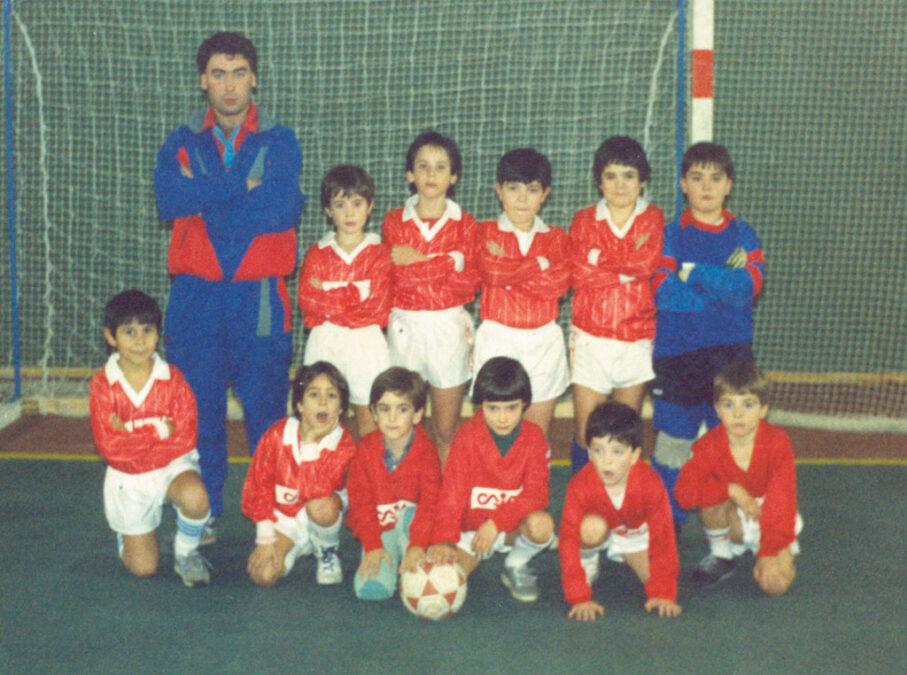 1986-87. Benjamín Del CD Villegas.