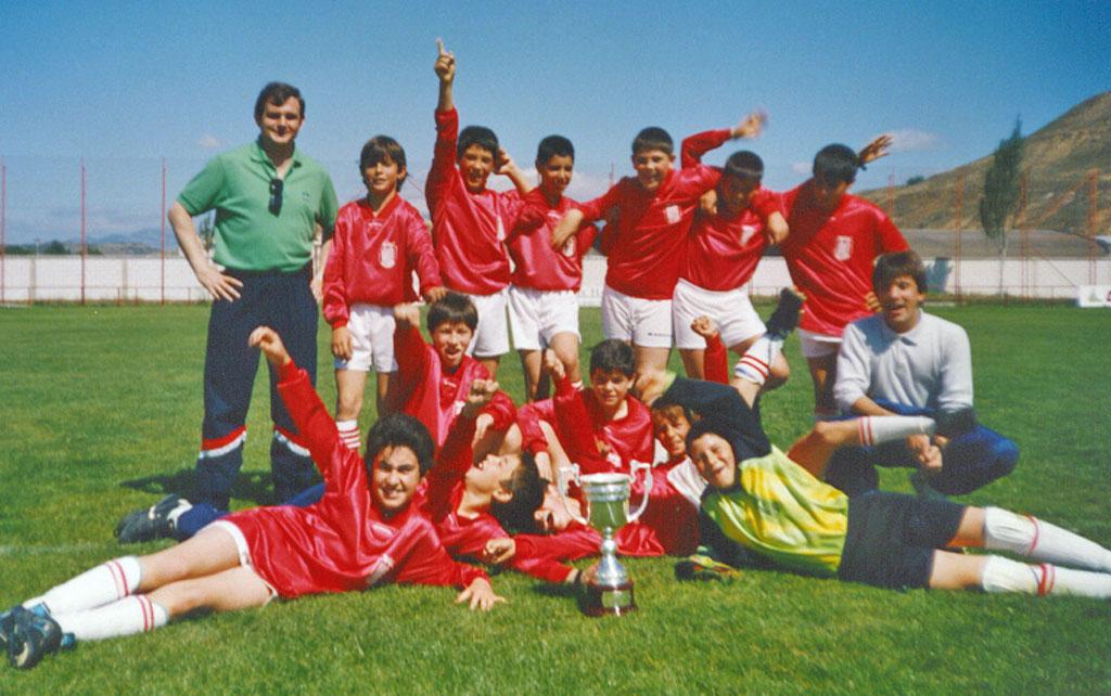1986-87. Alevín Del CD Villegas.
