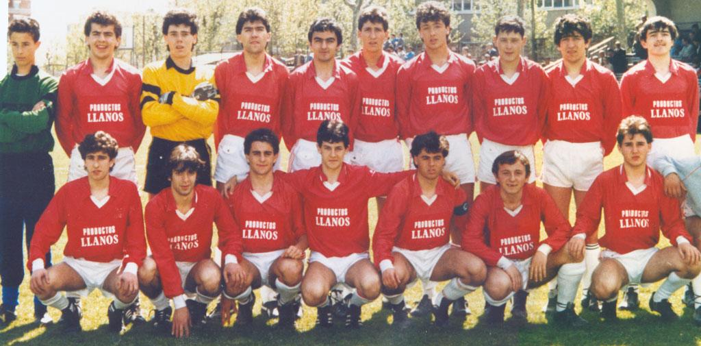 1986-87. Juvenil Del CD Villegas.