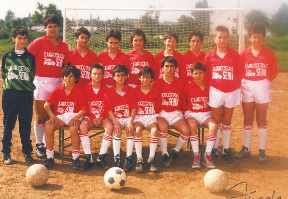 1988-89. Alevín Del CD Villegas.