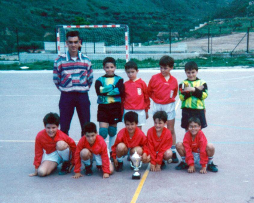 1993-94. Benjamín Del CD Villegas.