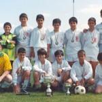 1993-94. Cadete del CD Villegas.