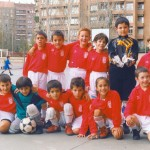 1997-98. Benjamín del CD Villegas.