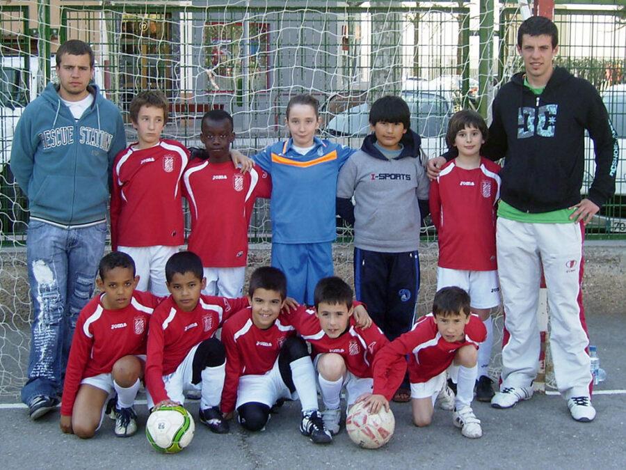 2011-12. Benjamín 2002 B Del CD Villegas.