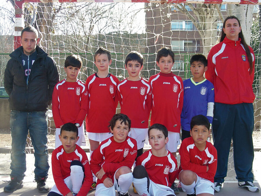 2011-12. Benjamín 2003 A Athletic Del CD Villegas.