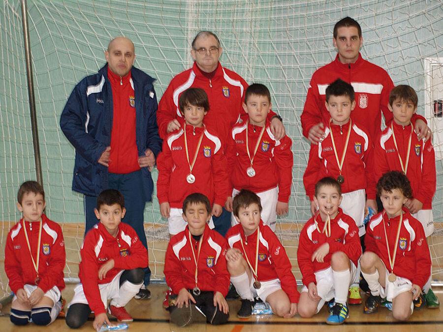 2011-12. Benjamín 2004 A Del CD Villegas.