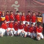 2011-12. Infantil 99 del CD Villegas.