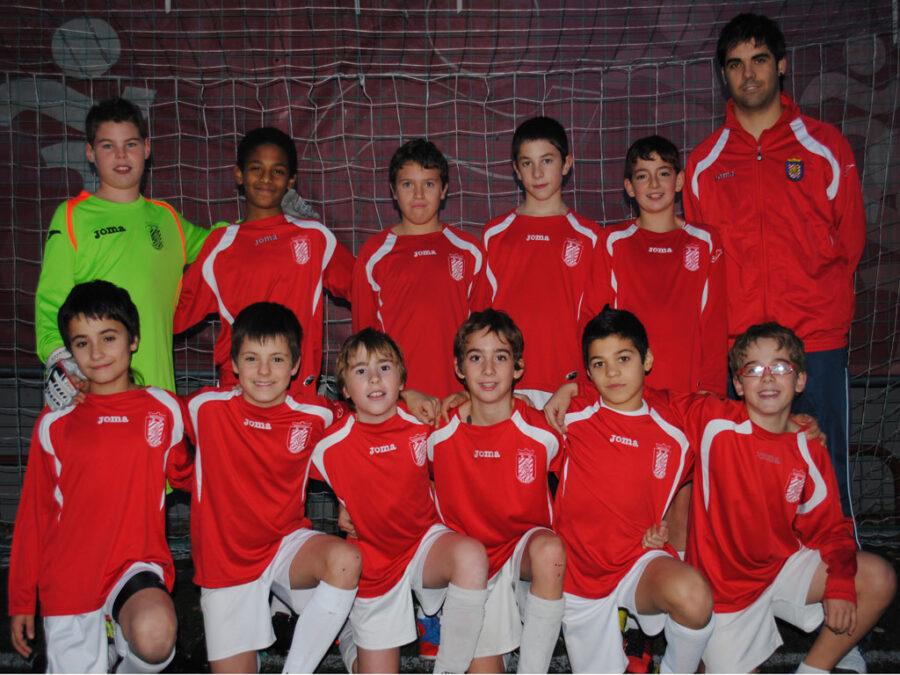 2012-13.Alevín 2001 B Del CD Villegas.
