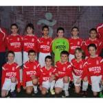 2012-13. Benjamín 2002 A del CD Villegas.