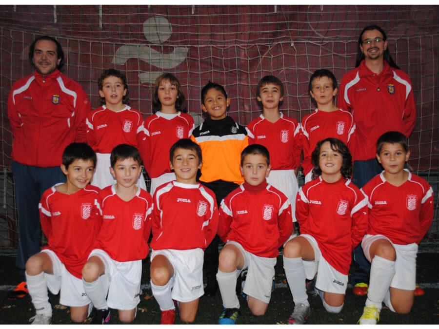 2012-13. Benjamín 2003 A Del CD Villegas.