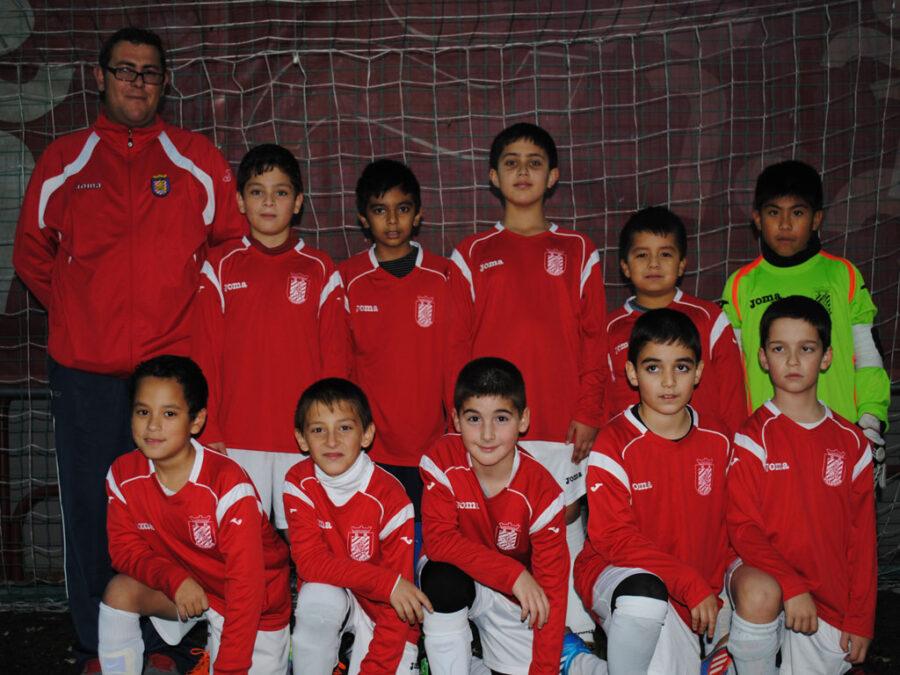 2012-13. Benjamín 2003 Athletic Del CD Villegas.