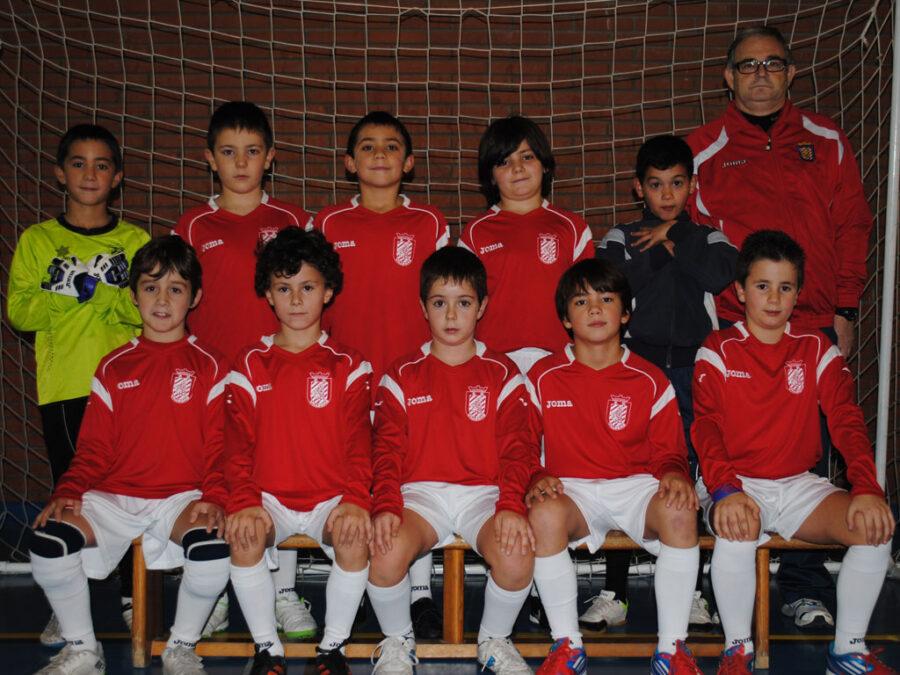 2012-13. Benjamín 2004 A Del CD Villegas.