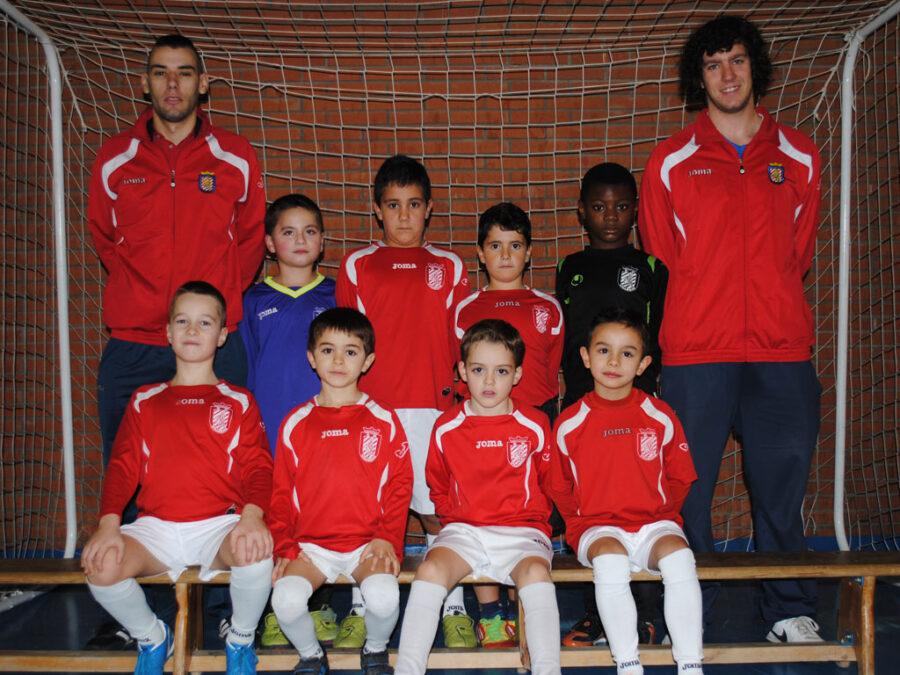 2012-13. Benjamín 2005 Athletic Del CD Villegas.