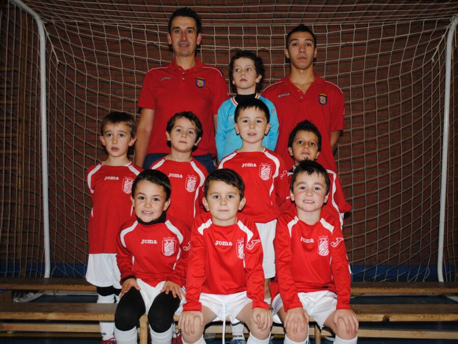 2012-13. Benjamín 2006 Athletic Del CD Villegas.