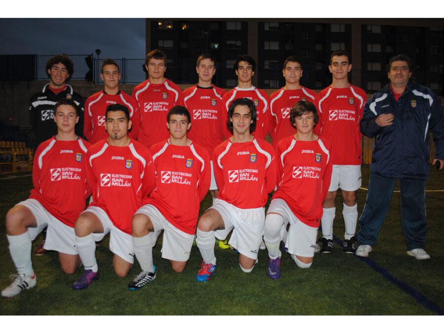 2012-13. Juvenil Territorial Del CD Villegas.