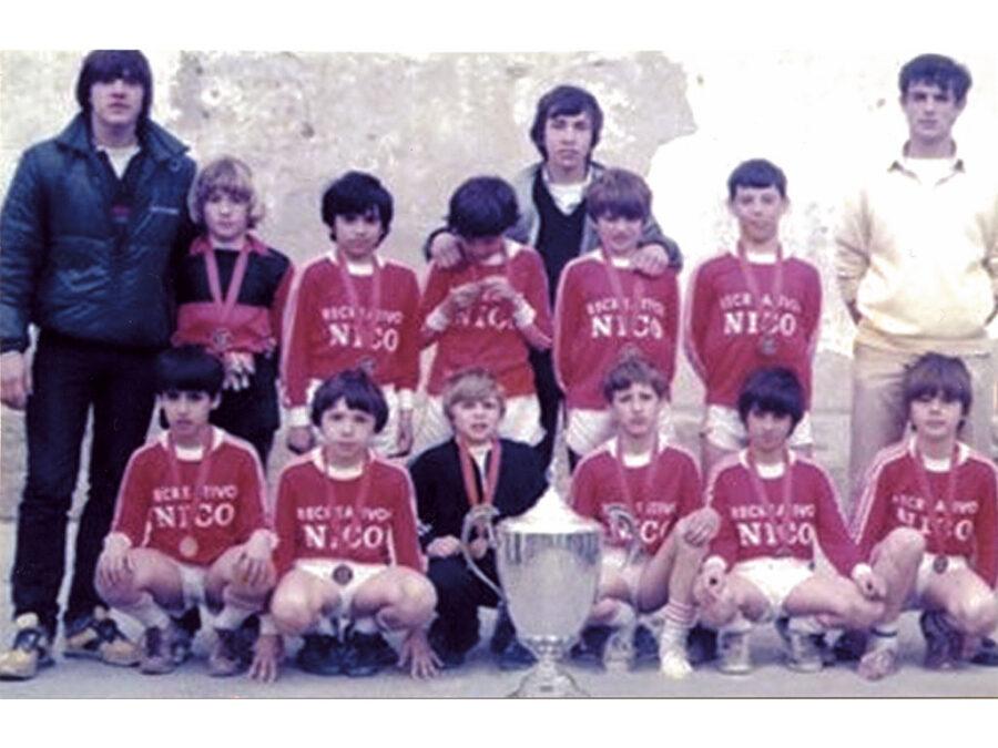 1984. Equipo Del Villegas Campeón Del Torneo Villegas.