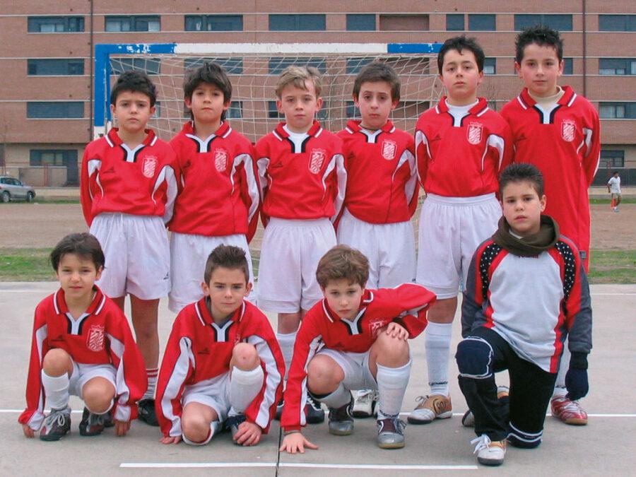 2006. Benjamín 96 Del Villegas Campeón Del Torneo Villegas.