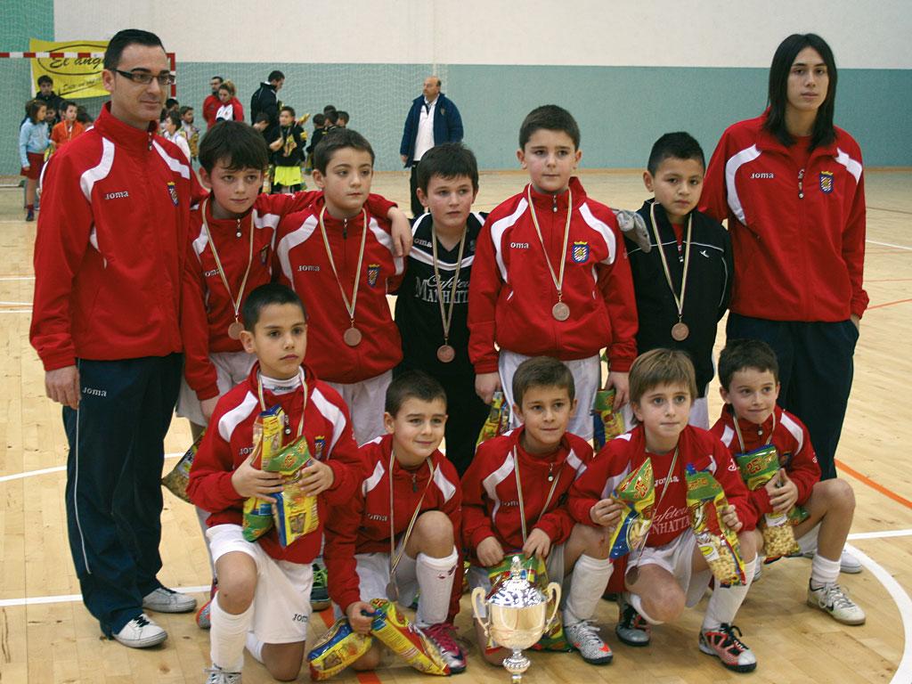 2011. Benjamín 2002 del Villegas campeón del Torneo Villegas.