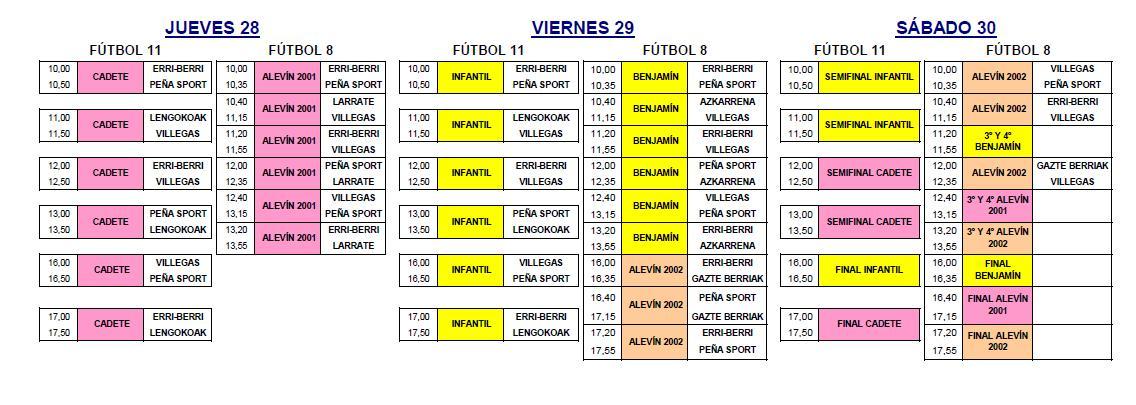 Calendario Olite 2013