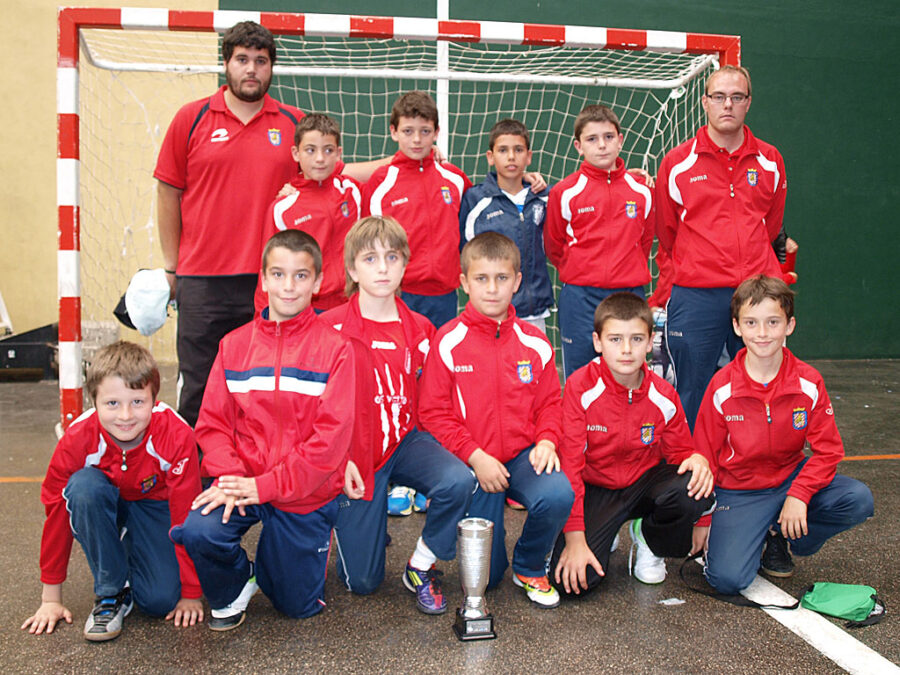 XIV Torneo Ciudad De Miranda. Alevín 2002 Del CD Villegas.