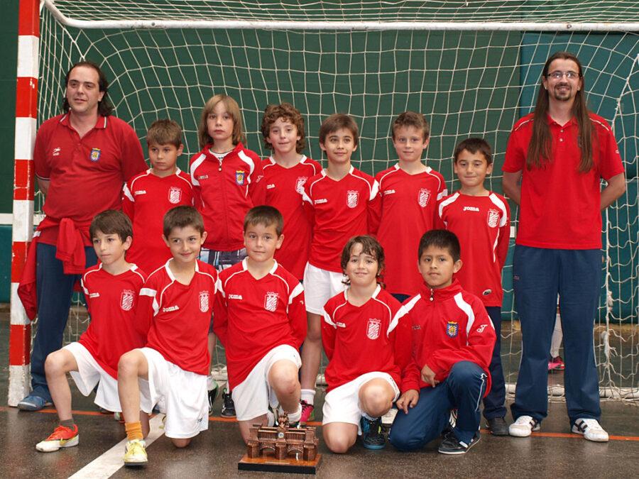 XIV Torneo Ciudad De Miranda. Benjamín 2003 Del CD Villegas, Campeón Del Torneo.