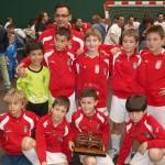 XIV Torneo Ciudad de Miranda. Benjamín 2004 del CD Villegas, campeón del torneo.