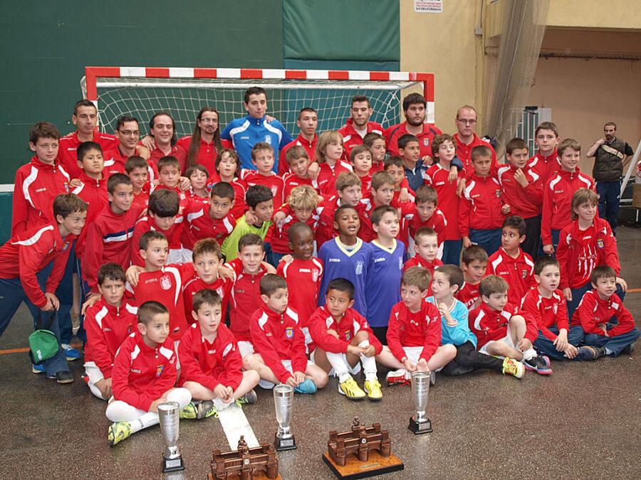 XIV Torneo Ciudad De Miranda. Equipos Participantes Del CD Villegas (2002, 2003, 2004, 2005 Y 2006).