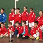 XIV Torneo Ciudad de Miranda. Prebenjamín 2005 del CD Villegas.