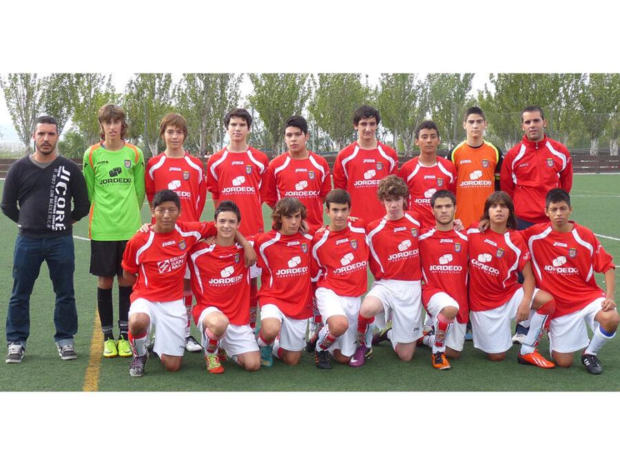 2013-14. Cadete Del CD Villegas.