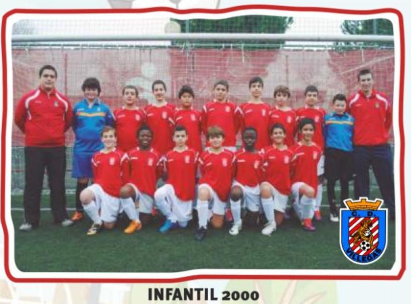 Infantil 2000, en la pasada temporadas