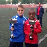 Los premiados del CD Villegas en el 41 Torneo