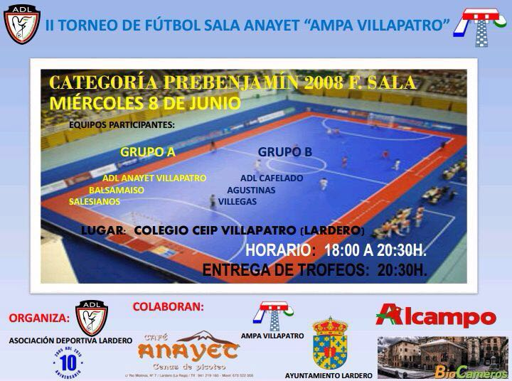 Torneo Villa patro junio 16