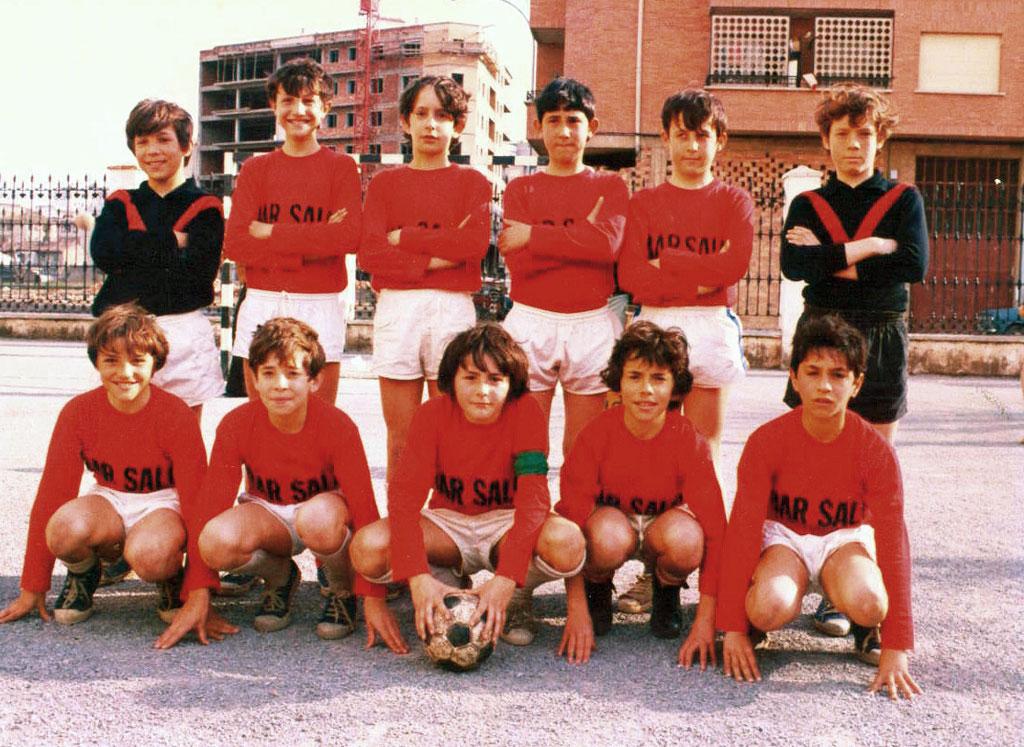 1973. Equipo del Villegas, primer ganador del Torneo.