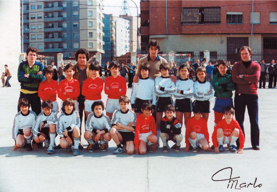 1981. Villegas-Burgos, En El 8º Torneo.