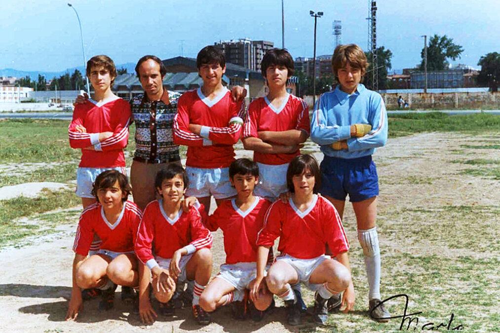 1982-83. Infantil A Del CD Villegas