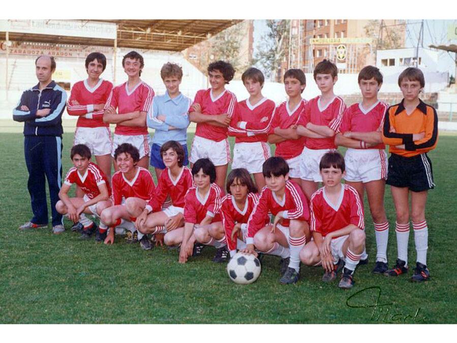 1983. Infantil Del Club Deportivo Villegas.