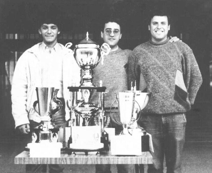 1986. Torneo Villegas. Germán Y Bene.