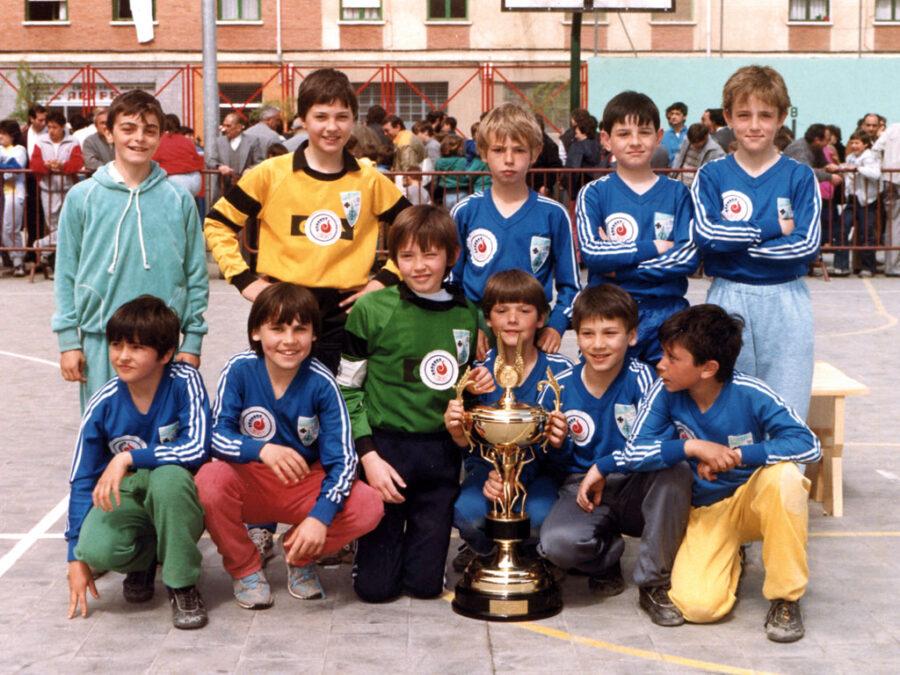 1986. Equipo Campeón Del Loyola.